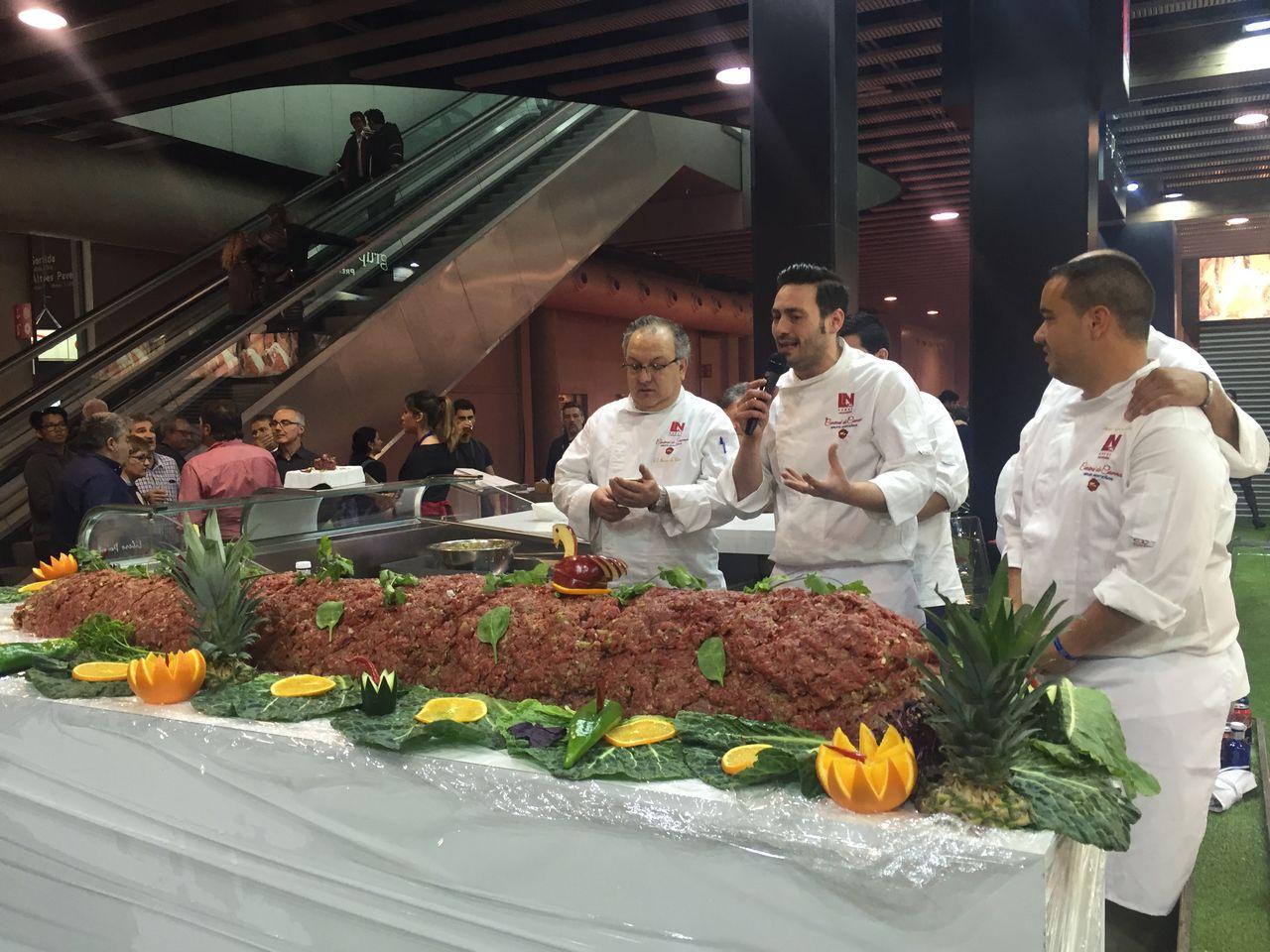 Feria Alimentaria - Steak Tartar