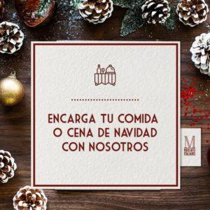 Encarga tu comida o cena de Navidad en Mercato Italiano.