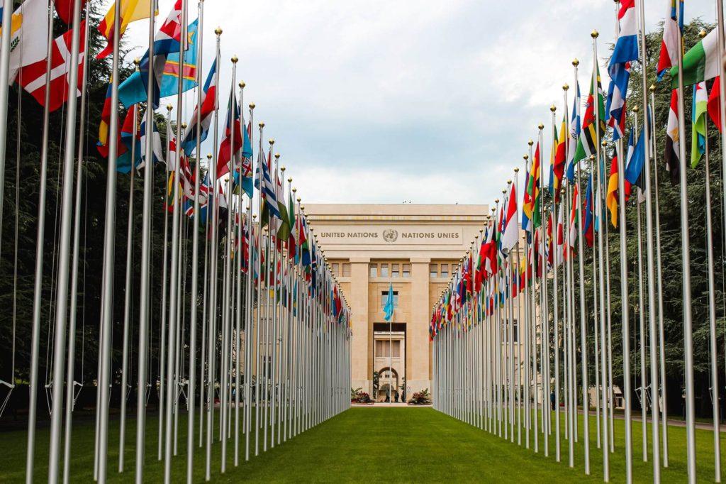 La Organización de las Naciones Unidas, lugar donde se crearon los ODS.
