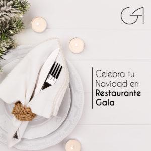 Celebra tu Navidad en Restaurante Gala